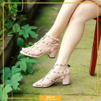 Giày cao gót đinh đế vuông 5cm