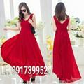 Đầm maxi váy maxi VINTAGE L12TP36