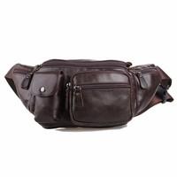 Túi đeo bụng da bò nam CowBoy 124