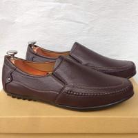 Giày mọi nam màu nâu đất thời trang kiểu dáng mới