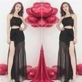 Set áo CROTOP váy maxi