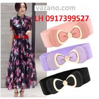 Thắt lưng dây nịt nữ Ladies thời trang Hàn Quốc mới L12013