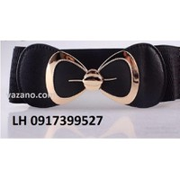 Dây nịt Thắt lưng nữ bản rộng Ladies thiết kế Hàn Quốc mới L12013