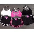 Bộ quần áo Pink thể thao tập gym, yoga, aerobic