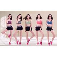 Bộ quần áo đùi tập gym yoga aerobic