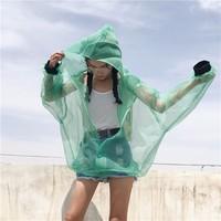 áo khoác oversize action Mã: AO3123 - XANH LÁ