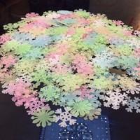 Dạ quang hoa tuyết đủ màu bịch 50 cái