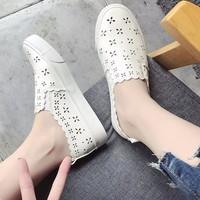 Giày mọi nữ đẹp laze hoa hàng nhập - LN1326