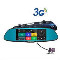 Camera hành trình A50, 7 inche, 3G, GPS, Bluetooth 2 camera