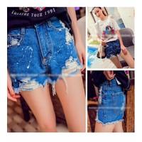 quần short jeans rách Mã: QN507