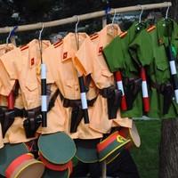 Bộ quần áo công an trẻ em