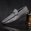 Giày lười da lộn gam màu cổ điển dễ dàng mang đồ 631
