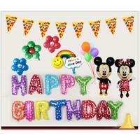 Set bong bóng trang trí sinh nhật Mickey