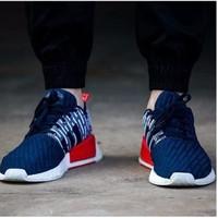 Giày Adidas NMDR2 PrimeKnit bluenavi, giày nam