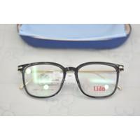 Gọng kính cận nhựa dẻo Nhật Lido