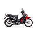 Xe số Honda Future Fi 125cc Vành Nan Hoa - Thắng Đĩa - Đen Đỏ Xám