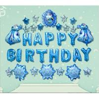 Set bong bóng trang trí Sinh nhật Nữ Hoàng Băng Gia Ellsa