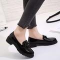 C116 Giày nữ Oxford da bóng đế Dr