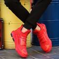 giày trainers phối da bóng Mã: GH0484 - ĐỎ