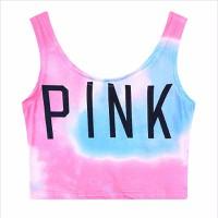 áo crop top tank top pink Mã: AN580 - HỒNG