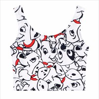áo crop top tank top con chó Mã: AN579