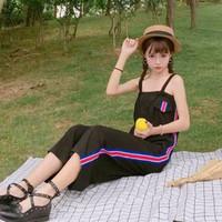 quần yếm dài viền sọc Mã: QD1546