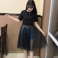 đầm váy xuyên thấu gợi cảm Mã: DA5021 - ĐEN