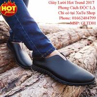 Giày Lười Da Nam Hot Trend 2017, Mẫu Mới - Đẹp Độc Lạ