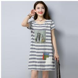 Đầm Suông Phong Cách Hàn Quốc D63_Hàng Nhập