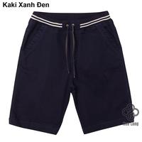 quần short kaki lưng thun nam cao cấp đẹp có big size Xanh Đen