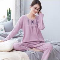 Bộ mặc nhà nữ dài tay size M-3XL -giá 380k - NG5001