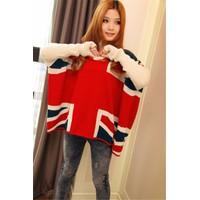 áo len cánh dơi cờ anh Mã: AK1830