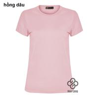 áo thun trơn cotton nữ đẹp giá rẻ Hồng Dâu