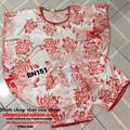 Bộ đồ mặc nhà ngủ họa tiết hoa trẻ trung mát mẻ-BN151