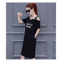 Đầm suông lưới, đầm suông đen, đầm suông thời trang