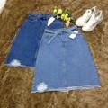 Váy Jean Form Dài