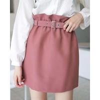 Chân váy công sở kèm belt Hana