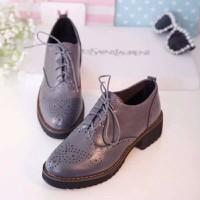 Giày Oxford  nữ họa tiết