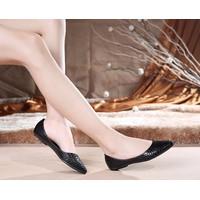 Giày búp bê nữ mũi vân cá - LN1385