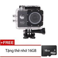 Camera hành trình phượt dành cho xe máy HD 1080 kèm thẻ nhớ 16GB