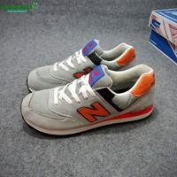 Giày Sneaker New BL cam hàng Việt Nam xuất khẩu
