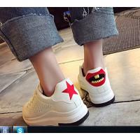 Giày nữ thể thao Hàn Quốc HQ61 màu trắng-AL