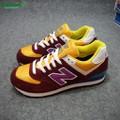 Giày Sneaker New Balance đỏ mận hàng VNXK nữ