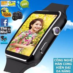 Đồng hồ thông minh Nhật siêu phẩm Màn Cong nghe gọi giải trí Fuji MB6