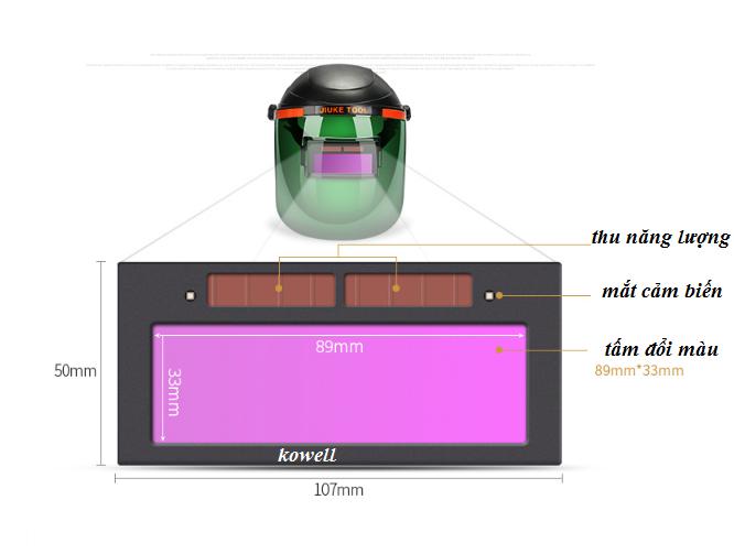 kính hàn điện tử tự động kw200