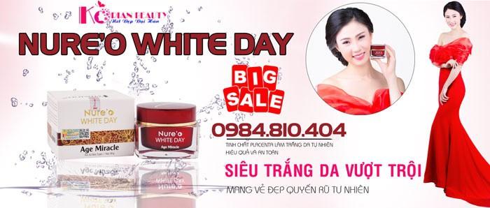 nureo white day