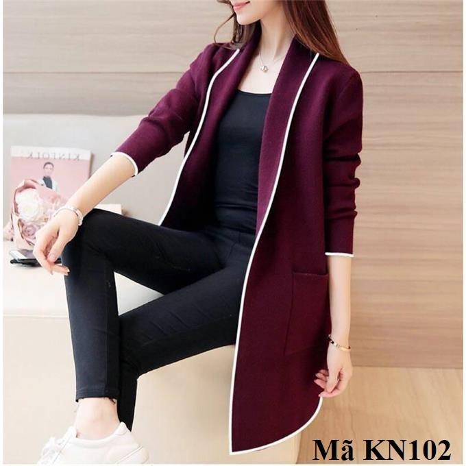 Áo khoác cardigan, khoác nhẹ nữ kn102