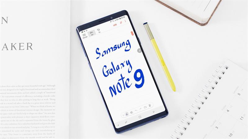 Đánh giá điện thoại Samsung Galaxy Note 9