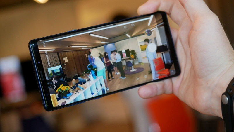 Camera điện thoại Samsung Galaxy Note 9