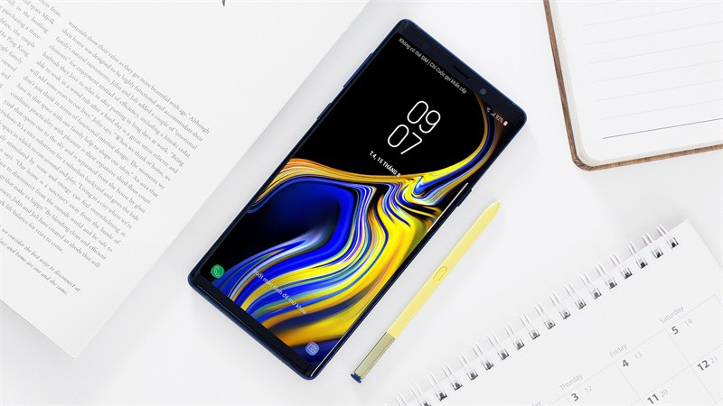 Giao diện Android điện thoại Samsung Galaxy Note 9